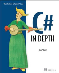 C# in Depth: What you need to master C# 2 and 3 2008 г Мягкая обложка, 424 стр ISBN 1933988363 инфо 5772f.
