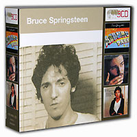 Bruce Springsteen Greetings From Asbury Park, N J / The Wild, The Innocent & The E-Street Shuffle / Darkness On The Edge Of Town (3 CD) Исполнитель Брюс Спрингстин Bruce Springsteen инфо 6449f.