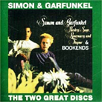 "Simon & Garfunkel The Two Great Discs: Parsley, Sage, Rosemary And Thyme / Bookends & Garfunkel"" ""Simon And Garfunkel"" инфо 6673f."