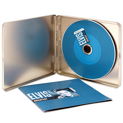 Elvis Presley Greatest Hits Серия: Steel Box Collection инфо 9423f.