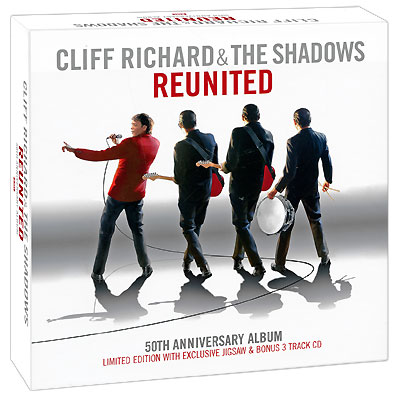 "Cliff Richard &The Shadows Reunited (2 CD) исполнительской манере ""The Shadows"" инфо 6630i."