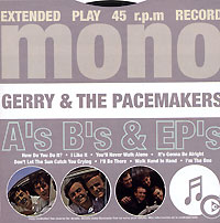 "Gerry & The Pacemakers A's, B's & EP's Исполнитель ""Gerry & The Pacemakers"" инфо 7795i."